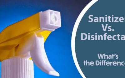 Sanitizer vs. Disinfectant. What's the Difference?